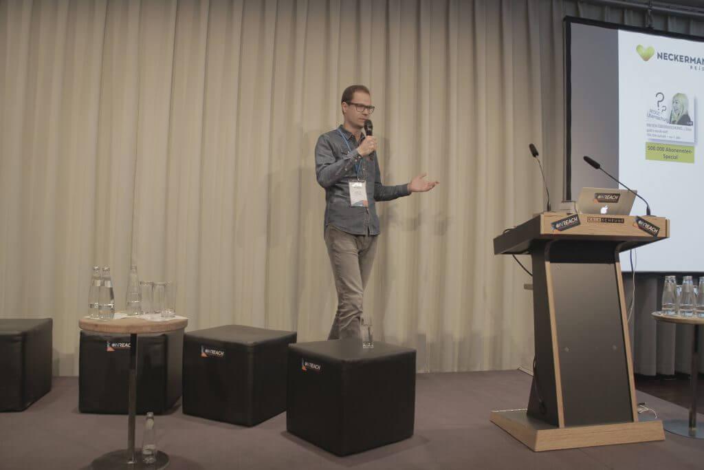 Inreach 2015 - Martin Widenka zu Influencer Marketing bei Neckermann Reisen