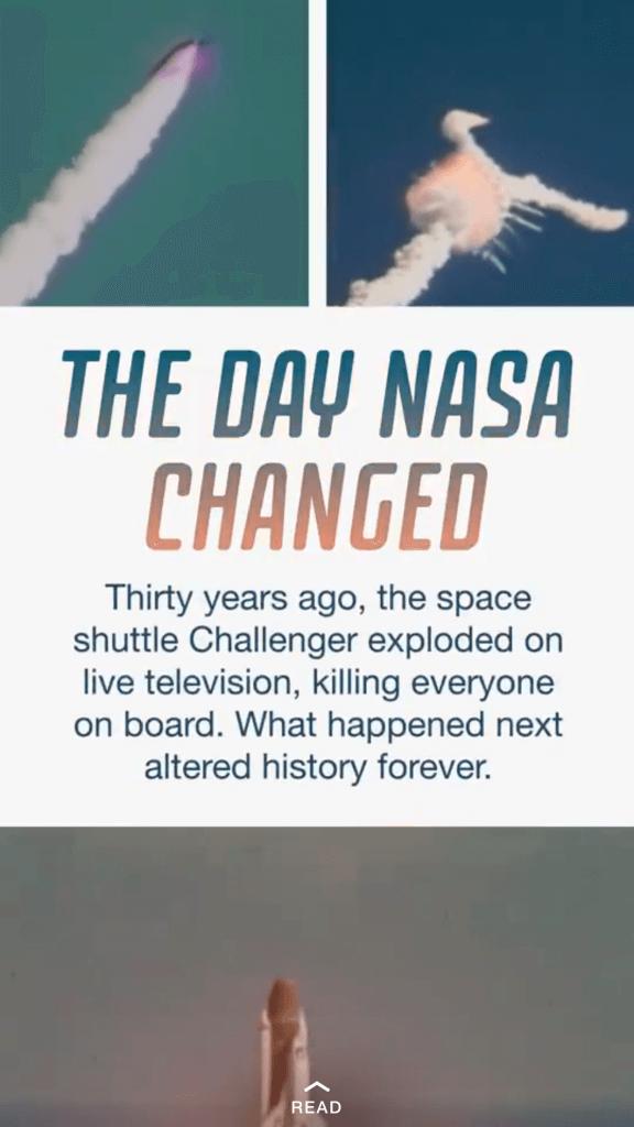 Snapchat Discover ermöglicht Darstellung von Artikeln