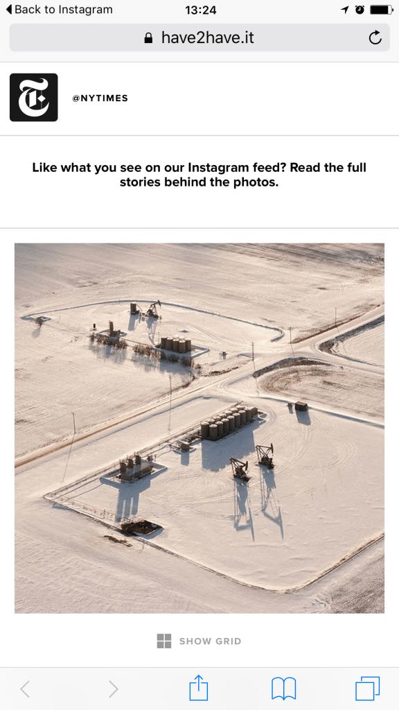 Instagram Traffic - New York Times generiert Traffic mit Soldsie