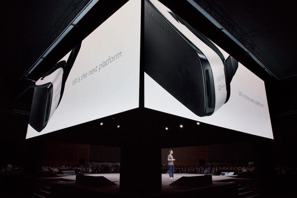 VR is the next platform - Facebook plant soziale Funktionen für Gear VR