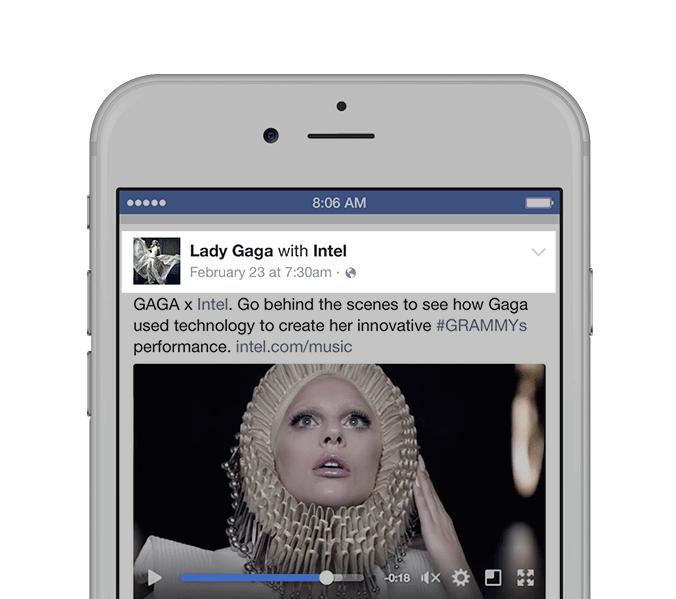 Influencer Marketing auf Facebook - Branded Content Tool mit Statistiken