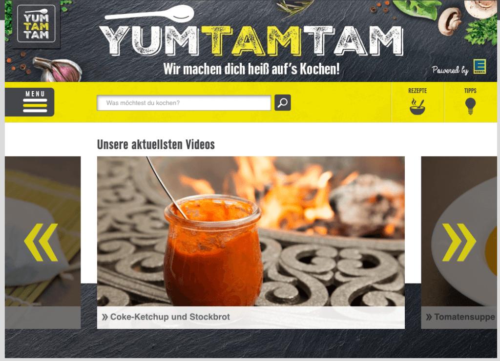 YouTube Marketing - Branded Entertainment Edeka YUMTAMTAM