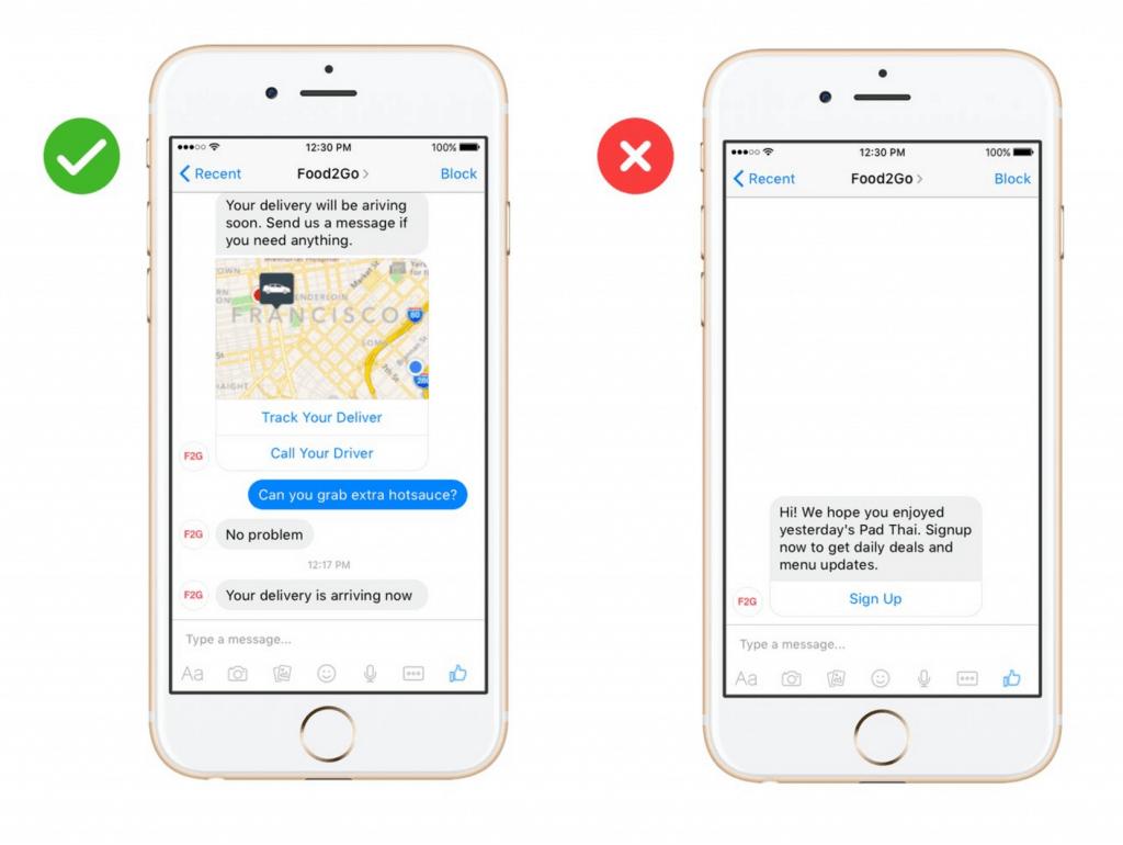 Facebook Messenger Bots - Chats mit individuellem Dialog