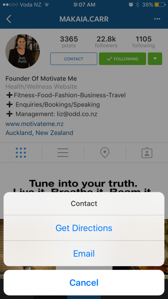 Instagram Unternehmensprofile - Lokales Marketing KMU