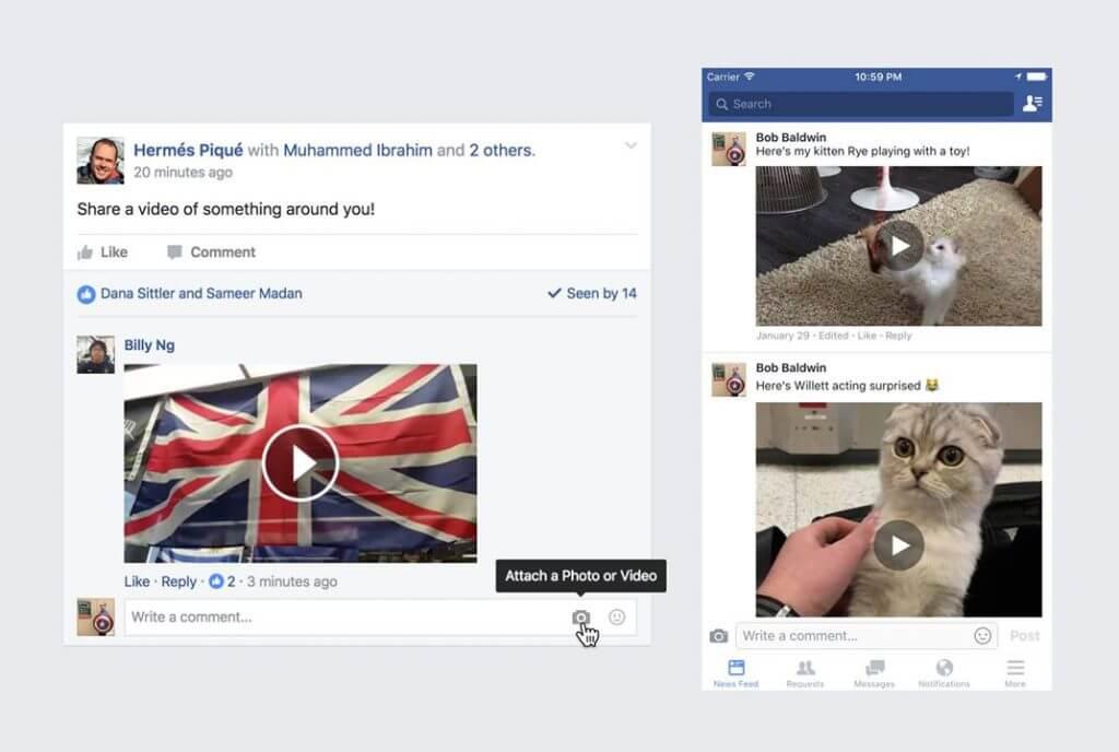 Facebook Videokommentare_Community_Management