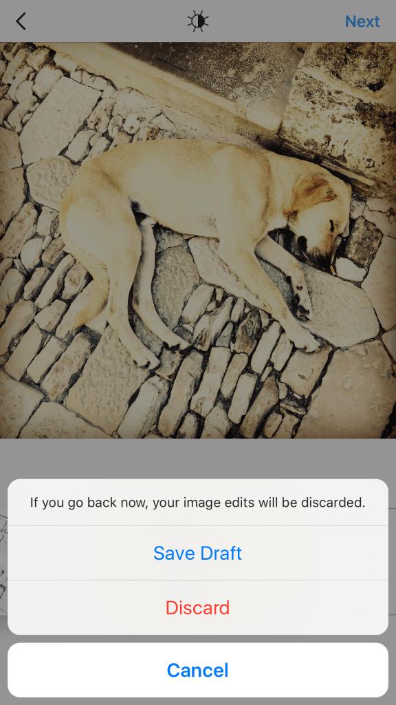 instagram-beiträge-als-entwurf-speichern