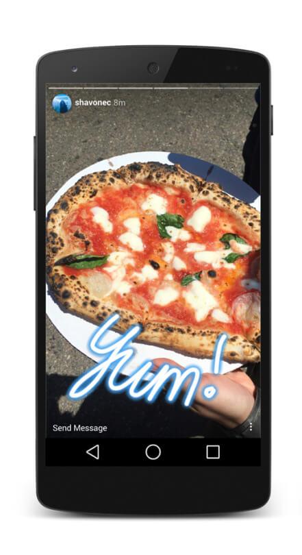 Tipps für Instagram Stories-texte-und-farben