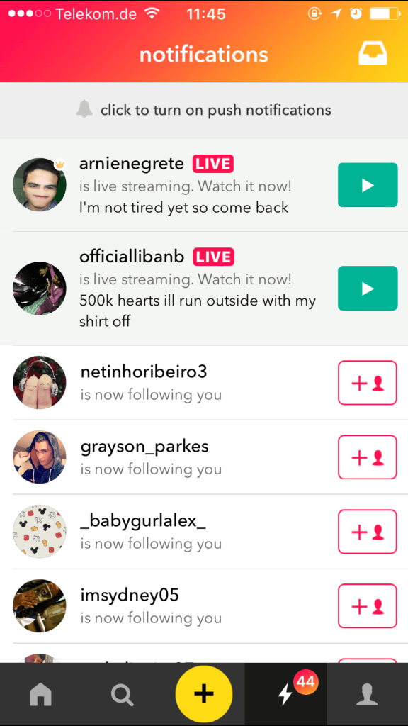 live.ly - musical.ly-profile