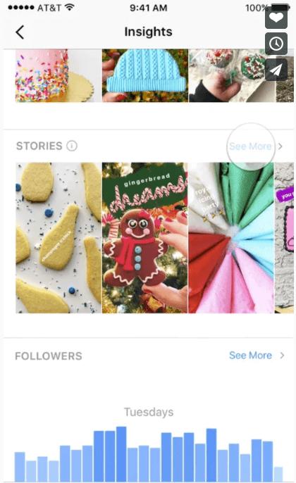 Instagram Stories Statistiken - Reichweite, Impressions, Abbruch & Ausstieg
