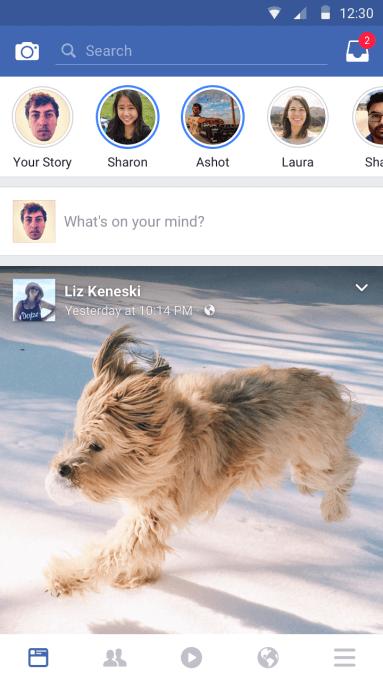 Facebook Stories - 2017
