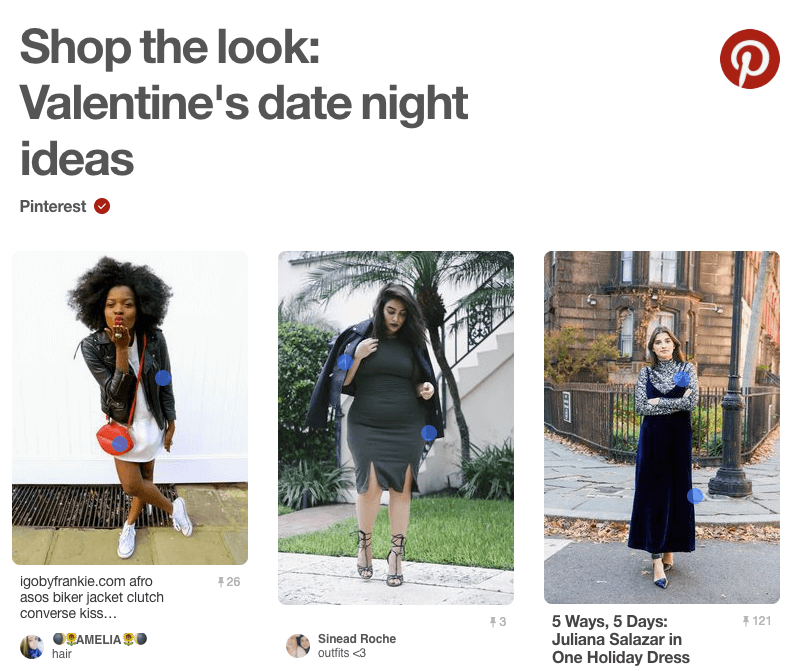 Pinterest Shop the Look - Pinterest Suche_Social Commerce