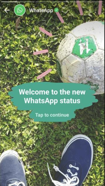 WhatsApp Status inspiriert von Snapchat