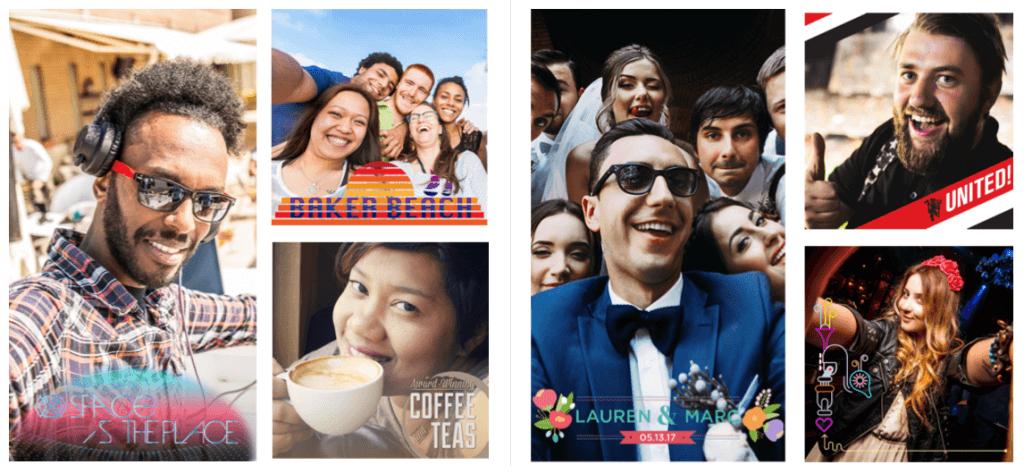 Facebook Frames und Facebook Camera Effects Plattform