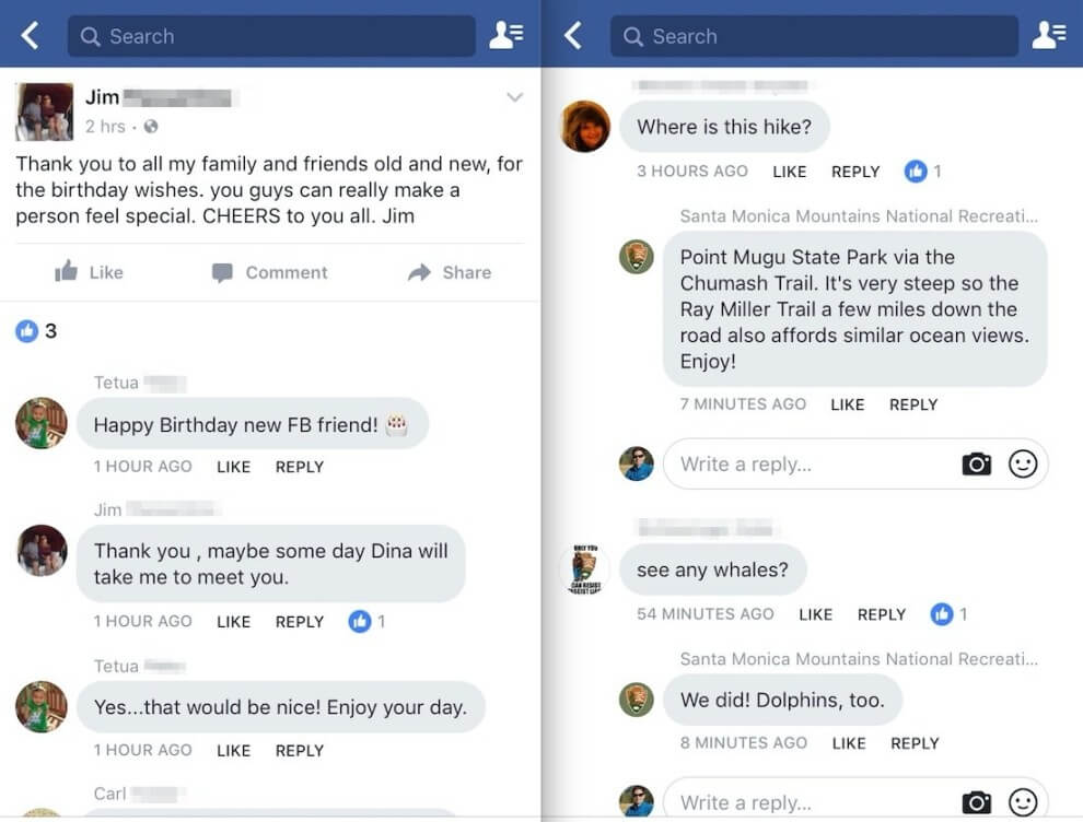 Neues Design Facebook Kommentare Messenger Optik