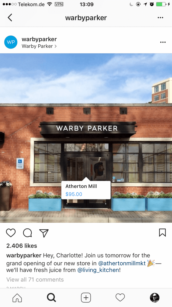 Social Selling - Instagram Shopping Aktionen verbinden