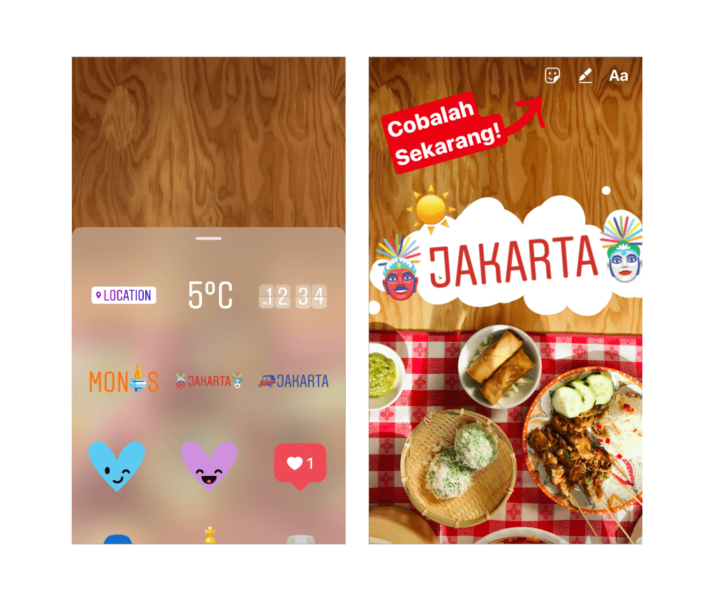 instagram stories_ Geostickers jakartastickers