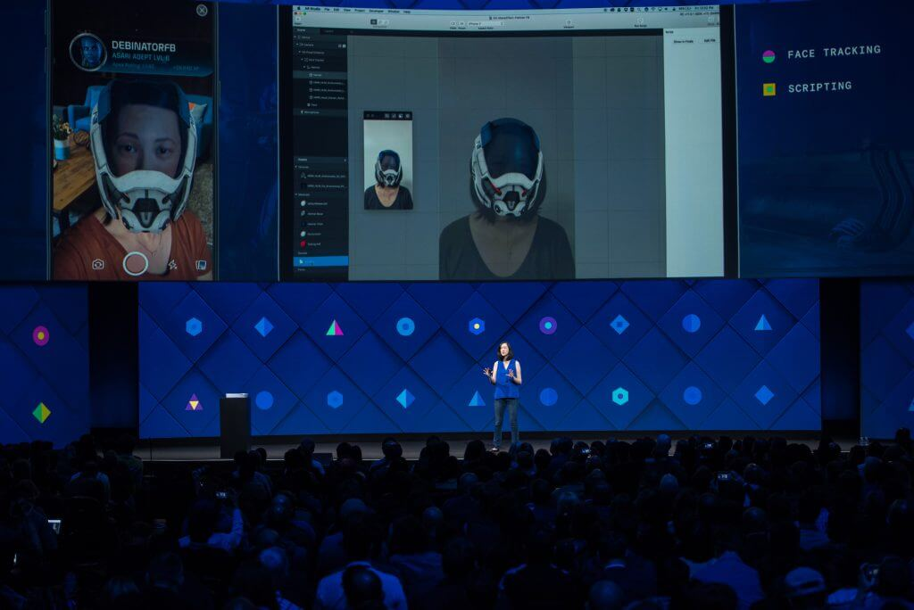 Facebook AR Studio - Augmented Reality Mass Effect Andromeda Deb Liu F8 2017-min