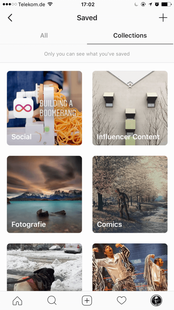 Instagram Sammlungen richtig einsetzen Instagram Collections