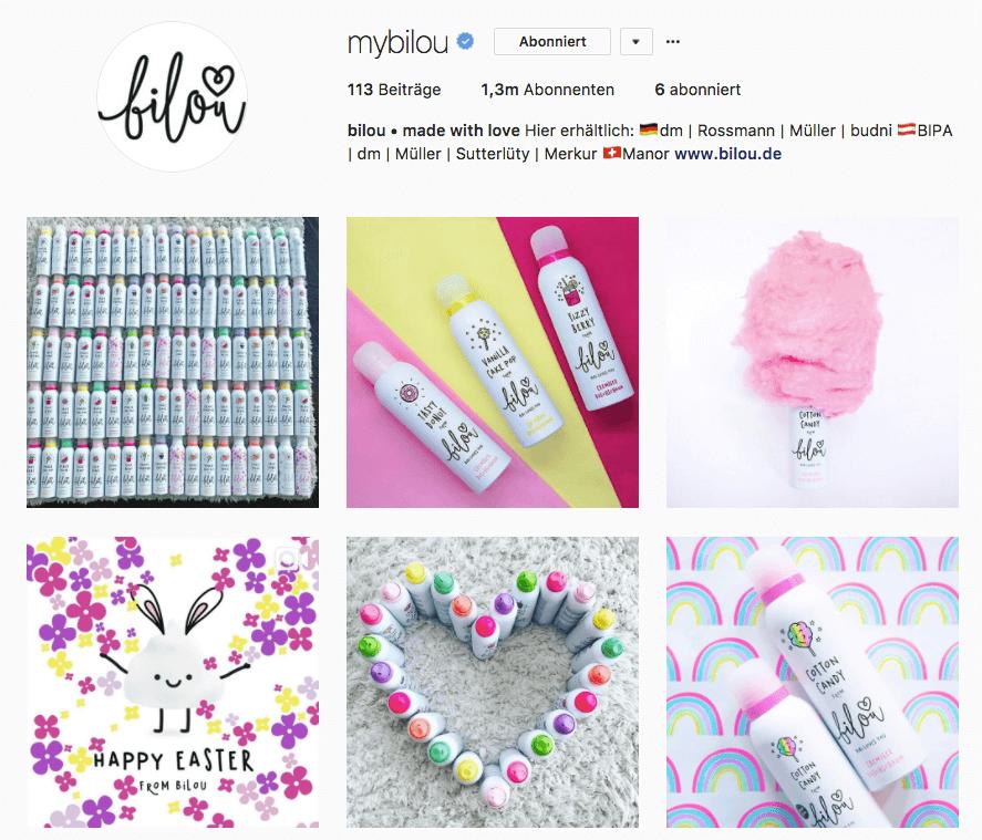 Instagram mybilou bibi
