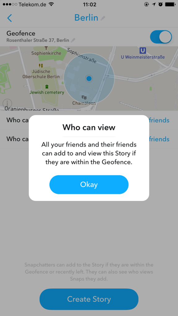 Wer kann Snapchat Custom Stories sehen