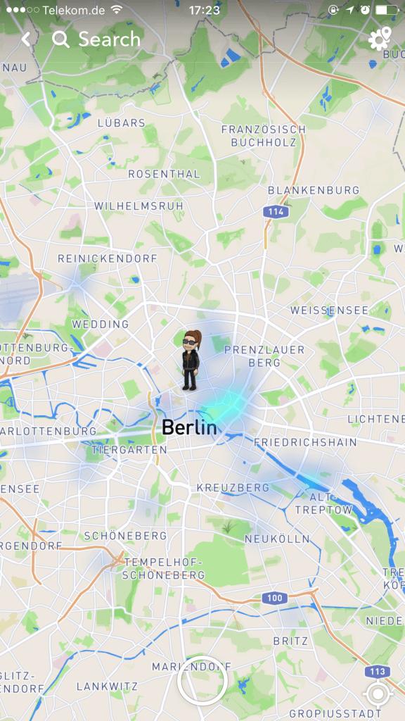 Snapchat Snap Map Freunde Finden