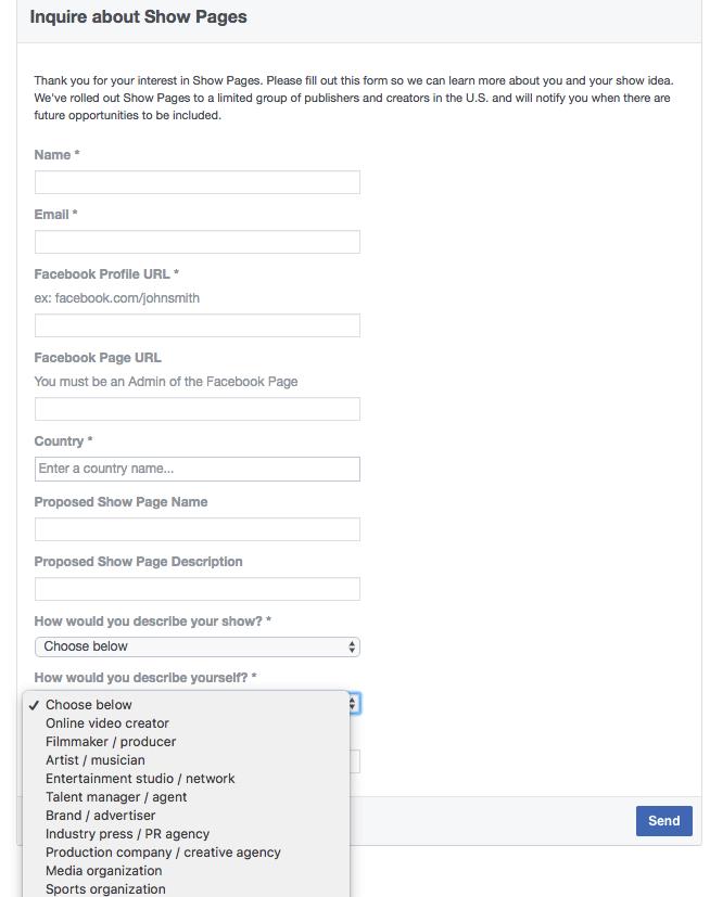 Facebook Watch - Themen und Creator
