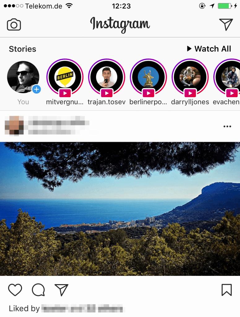 Instagram Live Nutzung steigt
