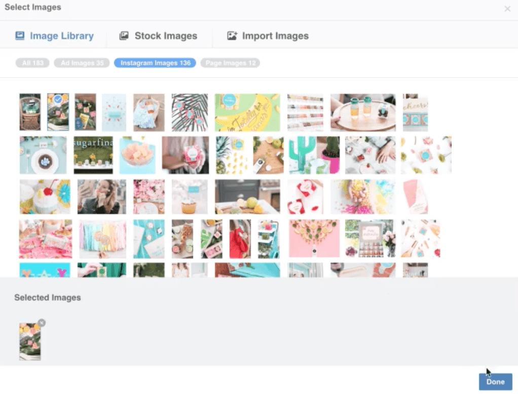 Instagram Stories Upload Anzeigenmanager