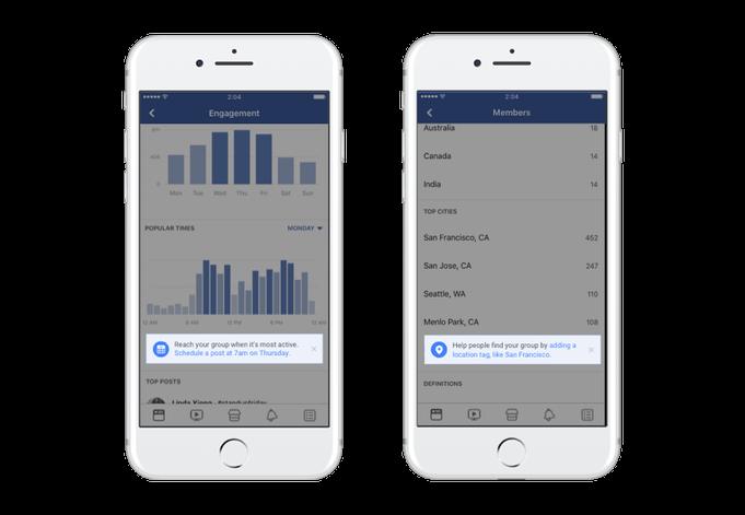 Facebook Gruppen Statistiken - Gruppen-Insights