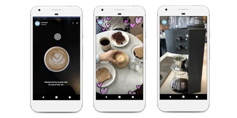 Facebook-Stories-für Facebook Seiten und Unternehmen