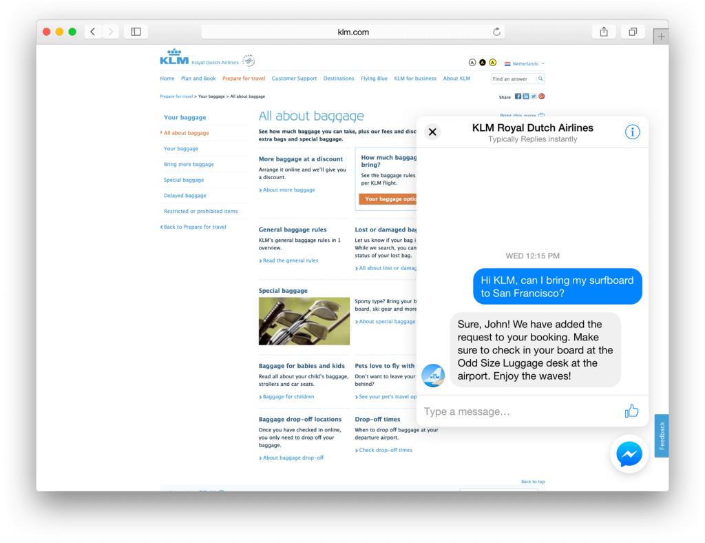 Facebook Messenger - Chat Plugin für Webseiten