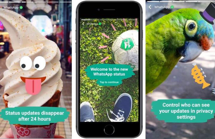 Neuer Test Instagram Stories Als Whatsapp Status