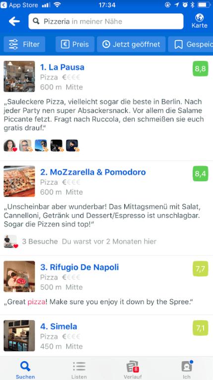 Facebook Local vs Foursquare