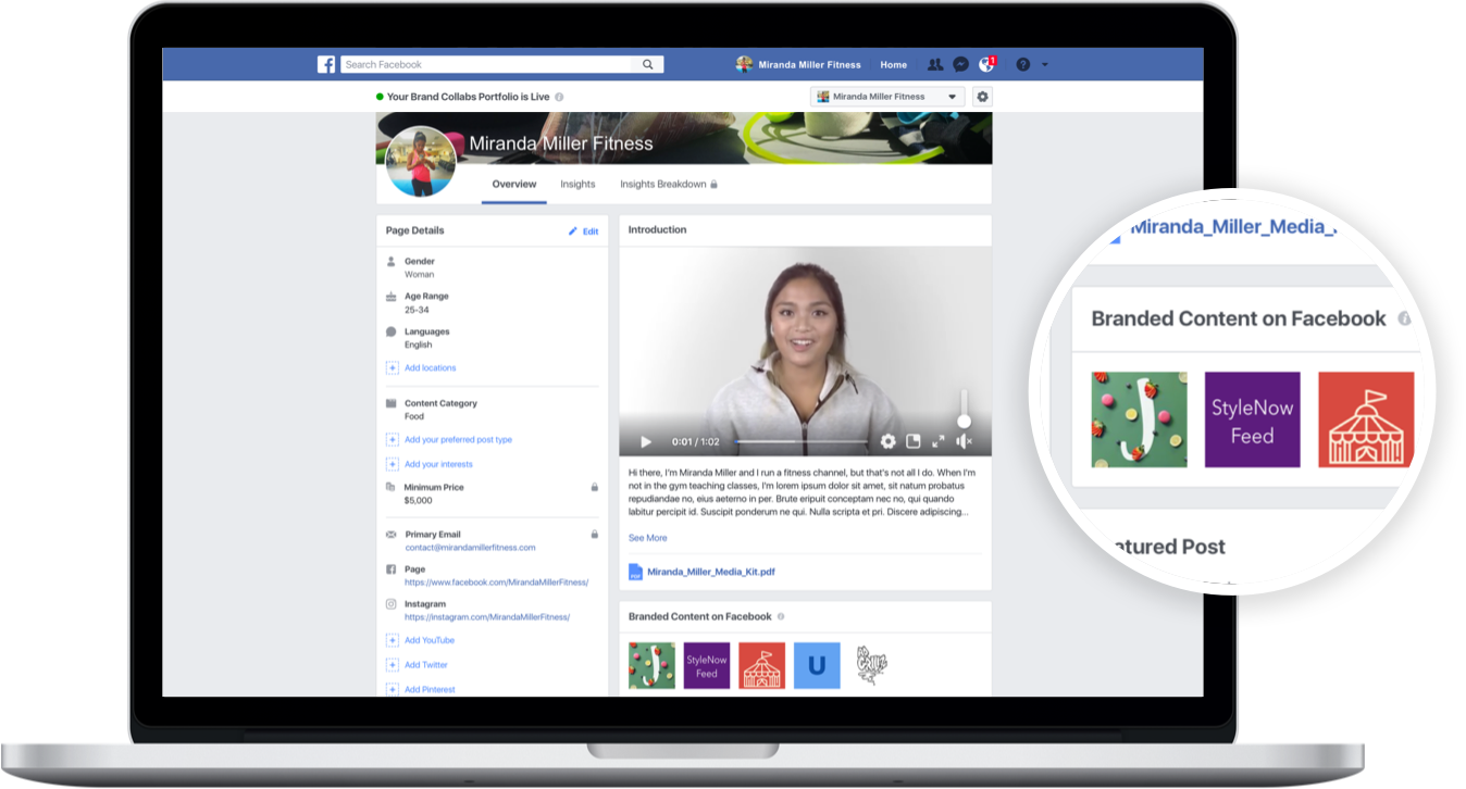 Facebook Brand Collabs Manager - Influencer Relations