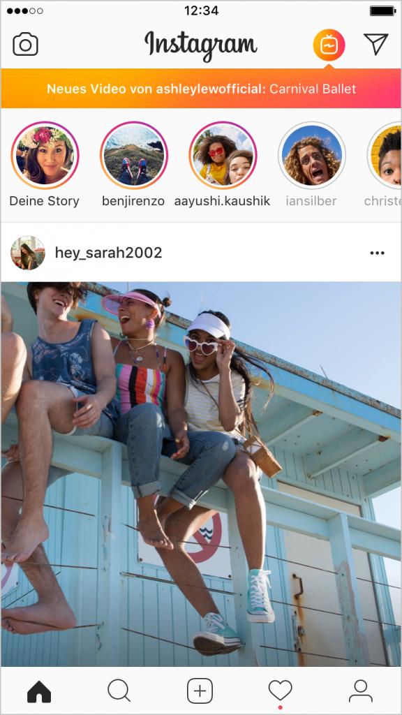 IGTV-Instagram-Notification-DE