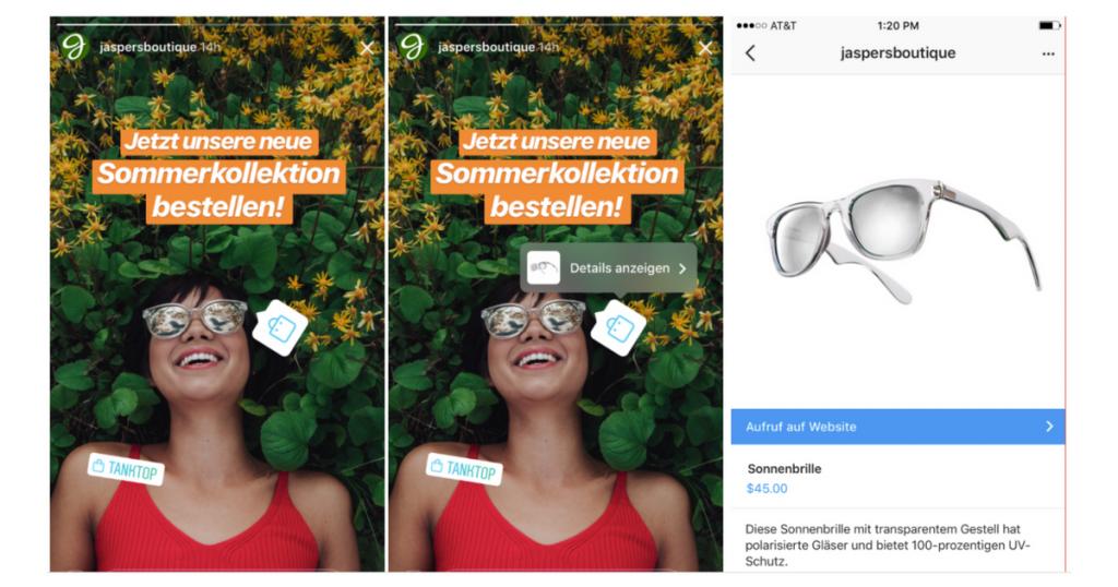 Instagram-Shopping-Instagram-Stories-Deutschland-share