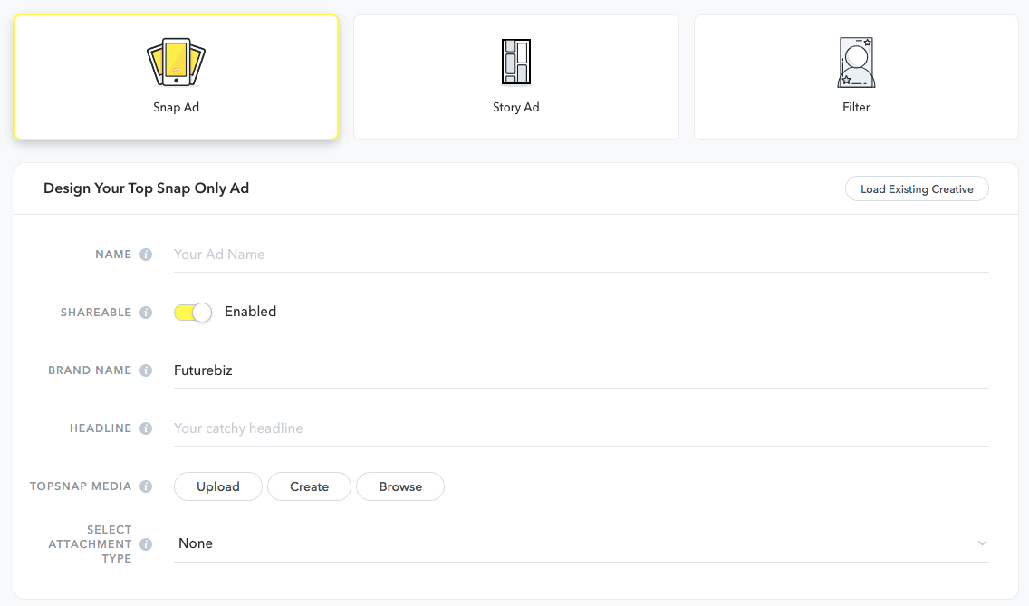 Snapchat-Werbeanzeigenmanager-anzeigen-erstellen