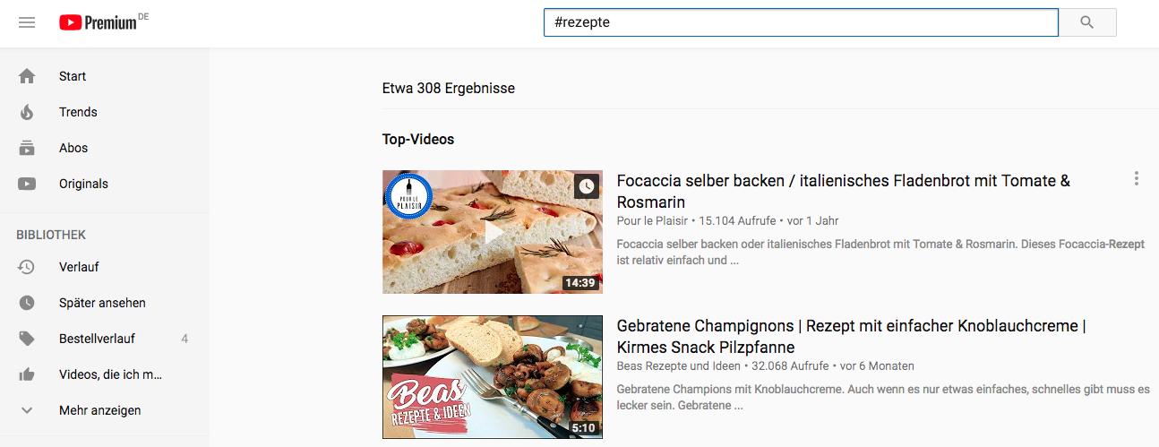 YouTube-Hashtags-Darstellung-Suche
