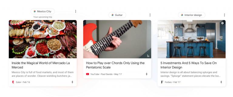 Google Discover in der Google App