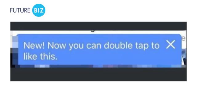 Double Tap Facebook