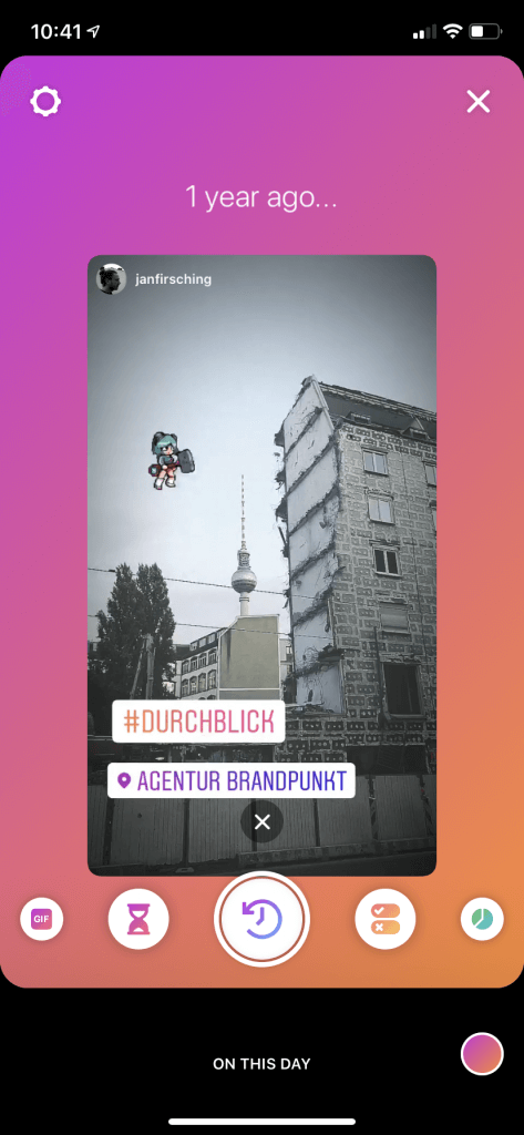 Instagram-Stories-an-diesem-tag