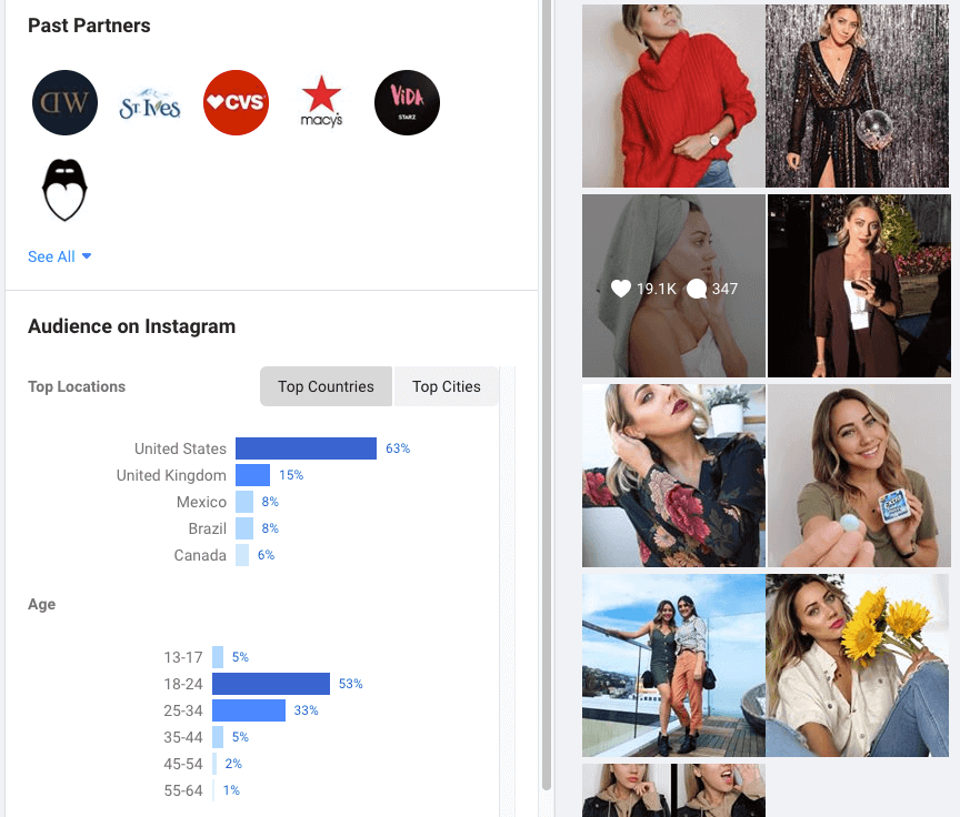 Instagram-Creator-Brand-Collabs-Manager-Statistiken