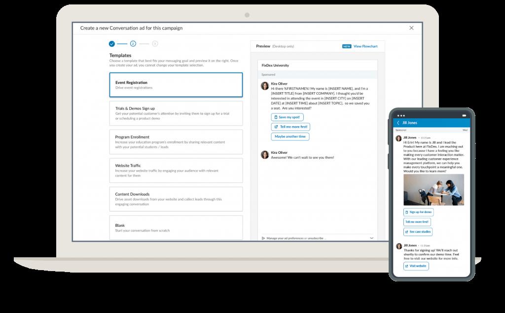 LinkedIn Conversation Ads: höheres Engagement und mehr Conversions